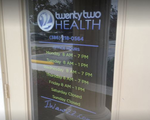 Chiropractic Orange City FL Front Door