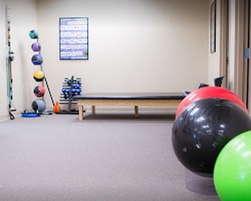 Chiropractic Orlando FL Physical Therapy Room